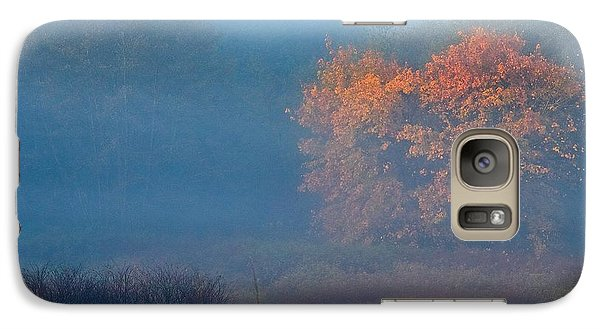 Galaxy Case featuring the photograph Falltime In The Meadow by Scott Holmes