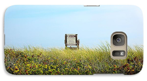 Galaxy Case featuring the photograph Falmouth Beach Open 9-5 by Madeline Ellis