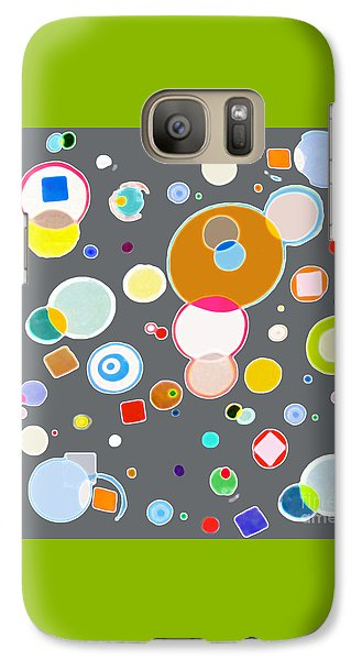 Galaxy Case featuring the painting Family by Beth Saffer