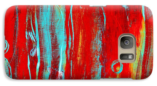 Galaxy Case featuring the painting Family by Carolyn Repka