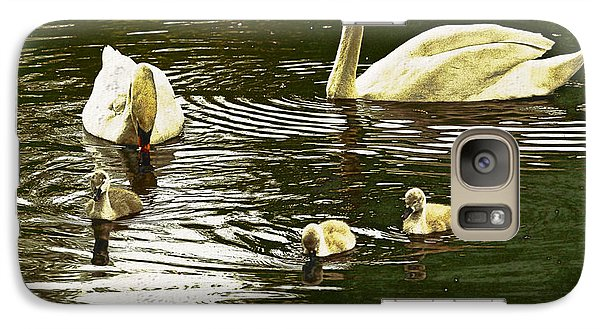 Galaxy Case featuring the photograph Family Day Out  by Fine Art By Andrew David