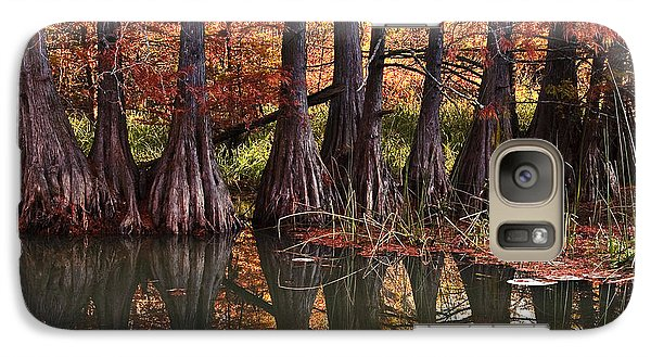 Galaxy Case featuring the photograph Family Of Cypress At Lake Murray by Tamyra Ayles