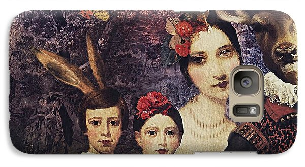 Galaxy Case featuring the digital art Family Portrait by Alexis Rotella