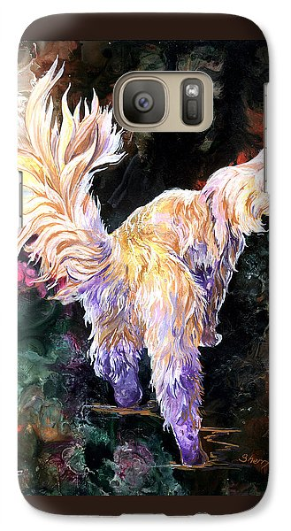 Galaxy Case featuring the painting Fancy Britches by Sherry Shipley