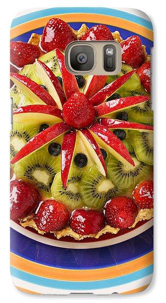Fancy Tart Pie Galaxy S7 Case