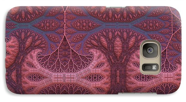 Galaxy Case featuring the digital art Fantasy Forest by Lyle Hatch