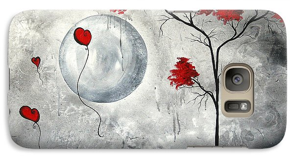 Far Side Of The Moon By Madart Galaxy Case by Megan Duncanson