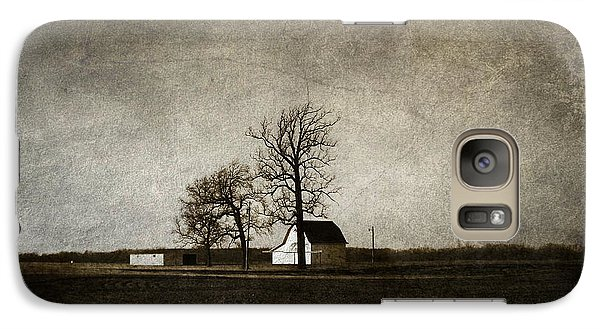 Galaxy Case featuring the photograph Farm by Cynthia Lassiter