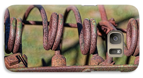 Galaxy Case featuring the photograph Farm Equipment 7 by Ely Arsha