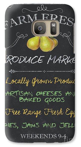 Pasture Galaxy S7 Case - Farm Fresh Produce by Debbie DeWitt