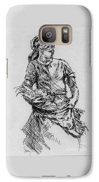 Farm Girl Galaxy S7 Case by Rod Ismay