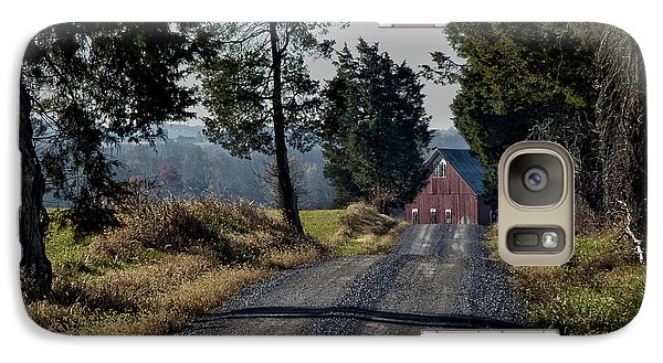 Galaxy Case featuring the photograph Farm Lane by Robert Geary