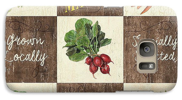 Farmer's Market Patch Galaxy S7 Case by Debbie DeWitt