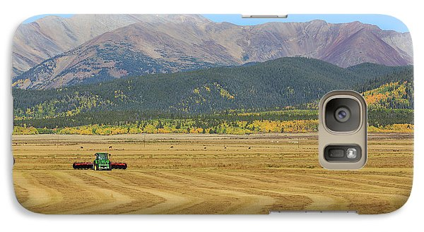 Galaxy Case featuring the photograph Farming In The Highlands by David Chandler