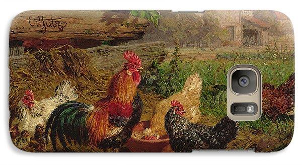Farmyard Chickens Galaxy S7 Case