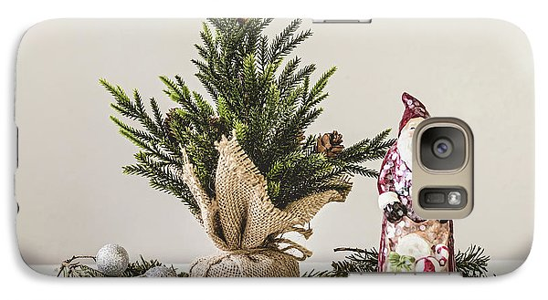 Galaxy Case featuring the photograph Father Christmas by Kim Hojnacki
