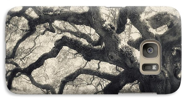 Galaxy Case featuring the photograph Father Time by Amy Tyler