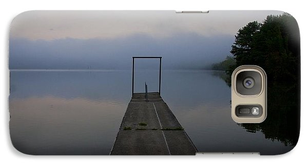 Galaxy Case featuring the photograph Father's Day Dock by Douglas Stucky