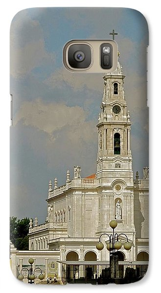 Galaxy Case featuring the photograph Fatima Cathedral by Kirsten Giving