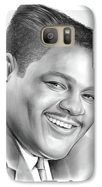 Saxophone Galaxy S7 Case - Fats Domino by Greg Joens