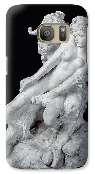 Faun And Nymph Galaxy Case by Auguste Rodin