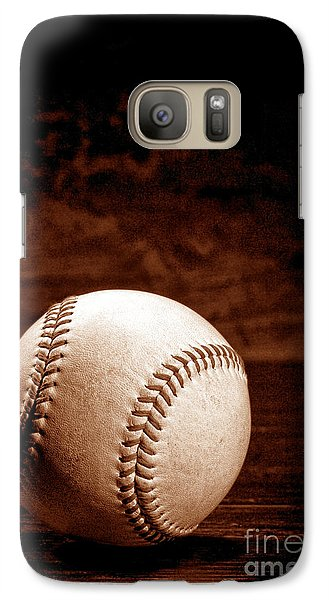 Baseball Galaxy S7 Case - Favorite Pastime  by Olivier Le Queinec
