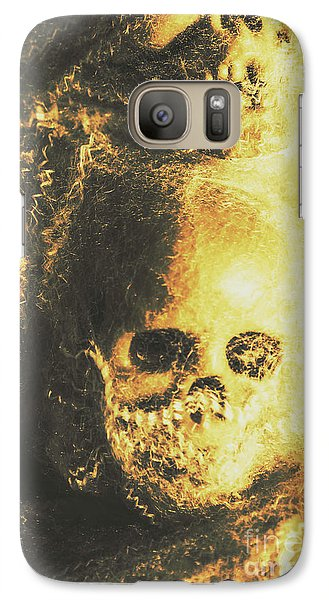 Spider Galaxy S7 Case - Fear Of The Capture by Jorgo Photography - Wall Art Gallery