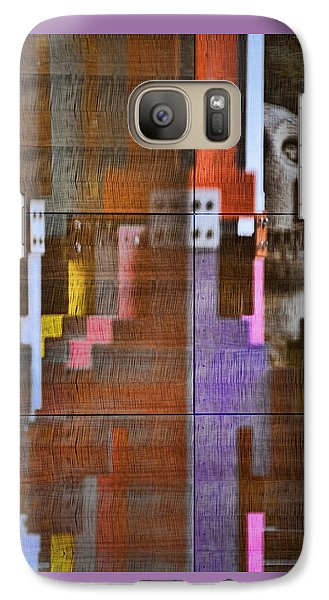 Galaxy Case featuring the photograph Fearful Reflections San Francisco by Steve Siri