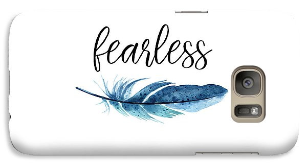 Galaxy Case featuring the digital art Fearless by Jaime Friedman