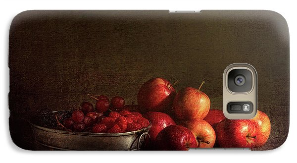 Feast Of Fruits Galaxy Case by Tom Mc Nemar