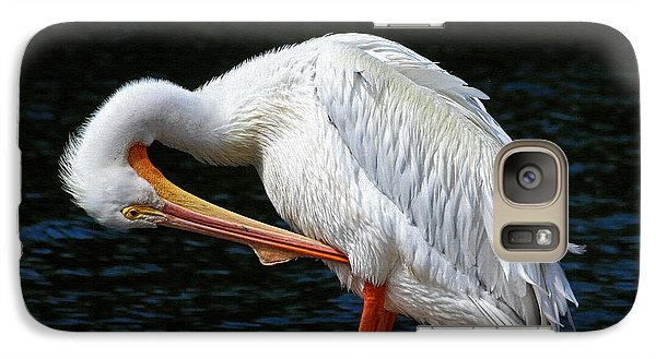 Galaxy Case featuring the photograph Feather Check by HH Photography of Florida