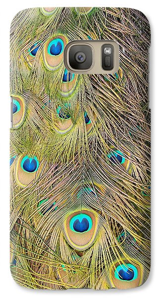 Galaxy Case featuring the photograph Feather Finesse by Margaret Bobb