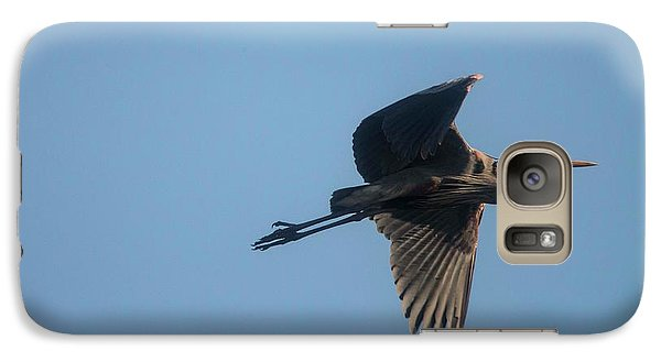 Galaxy Case featuring the photograph Feathering The Nest by David Bearden