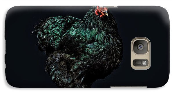 Feathers Galaxy Case by John Towner