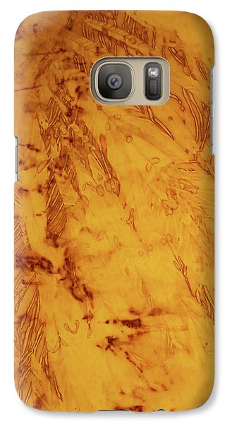 Galaxy Case featuring the photograph Feathers On The Wind by Cynthia Powell