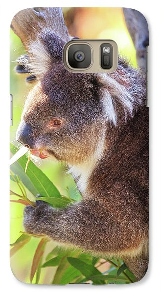 Galaxy Case featuring the photograph Feed Me, Yanchep National Park by Dave Catley