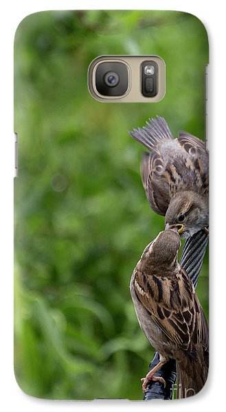 Galaxy Case featuring the photograph Feeding Time by Brian Roscorla