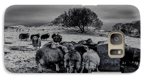 Galaxy Case featuring the photograph Feeding Time by Keith Elliott