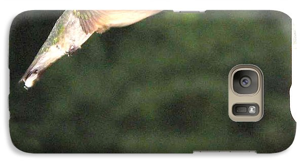 Galaxy Case featuring the painting Feeding Time by Martha Ayotte
