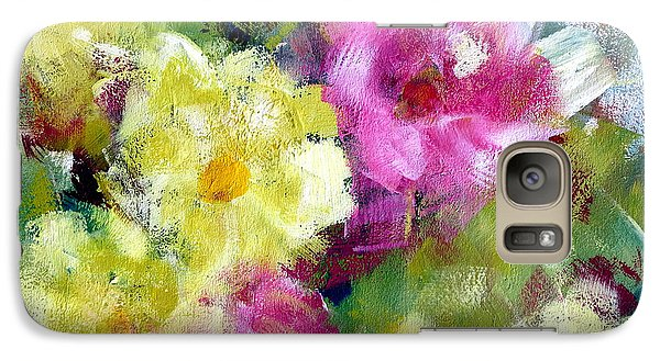 Galaxy Case featuring the painting Felicidades by Katie Black