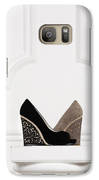 Galaxy Case featuring the photograph Female Shoes by Andrey  Godyaykin