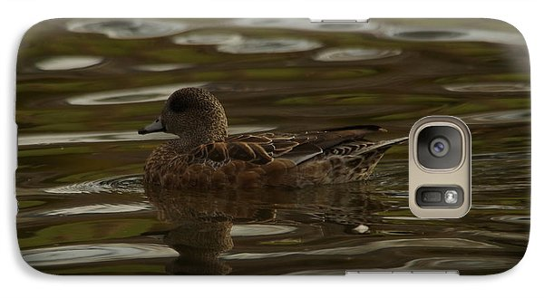 Galaxy Case featuring the photograph Female Wigeon by Jeff Swan