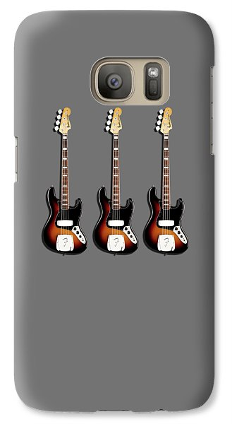 Fender Jazzbass 74 Galaxy S7 Case by Mark Rogan