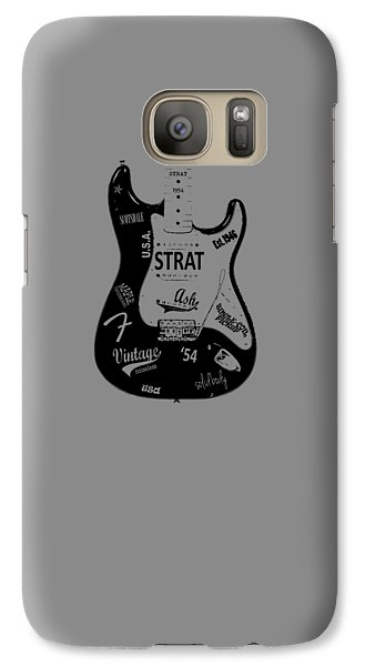 Fender Stratocaster 54 Galaxy S7 Case by Mark Rogan