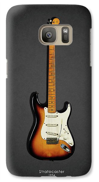 Music Galaxy S7 Case - Fender Stratocaster 54 by Mark Rogan