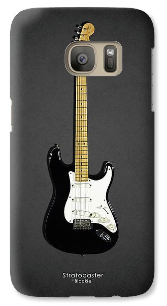 Eric Clapton Galaxy S7 Case - Fender Stratocaster Blackie 77 by Mark Rogan
