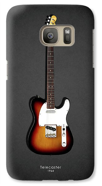 Jazz Galaxy S7 Case - Fender Telecaster 64 by Mark Rogan