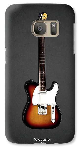 Music Galaxy S7 Case - Fender Telecaster 64 by Mark Rogan