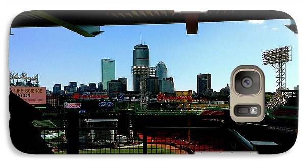 Galaxy Case featuring the photograph Fenway Park, Xi  by Iconic Images Art Gallery David Pucciarelli