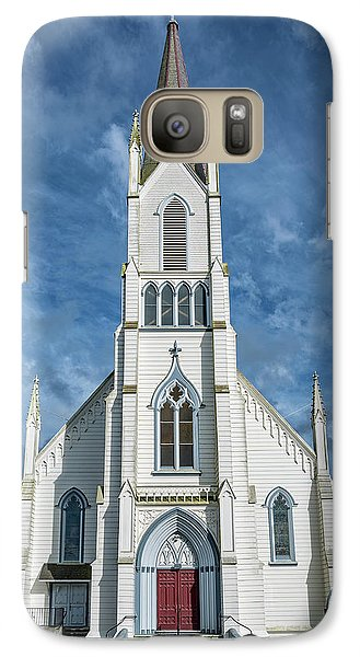 Galaxy Case featuring the photograph Ferndale Catholic Church by Greg Nyquist